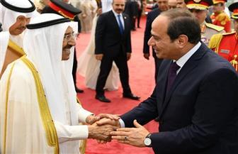 الرئيس السيسي للشيخ صباح الأحمد: أمن الكويت والخليج من أمن مصر