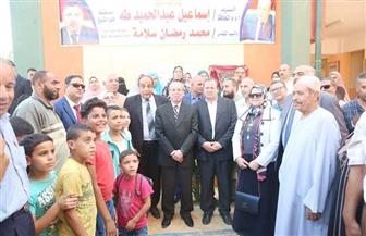 """محافظ كفرالشيخ يفتتح 3 مدارس جديدة بـ""""الرياض"""" بتكلفة 15 مليون جنيه   صور"""