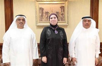 """""""تنمية المشروعات"""" يستقبل وفد مؤسسة سعود بن صقر برأس الخيمة الإماراتية"""