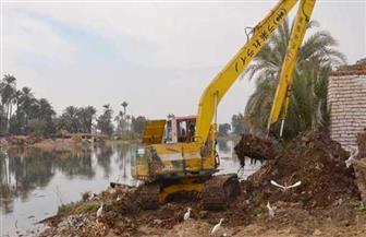 حملات لإزالة التعديات على نهر النيل والأراضي الزراعية بنطاق القاهرة والجيزة والقليوبية
