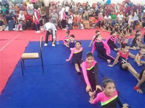 انطلاق مهرجان بطولة أكاديميات الجمباز للناشئين في الإسكندرية  صور