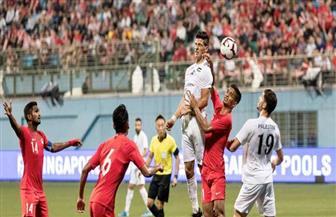 فلسطين تسقط في فخ الخسارة أمام سنغافورة بالتصفيات المشتركة لكأس العالم وأمم آسيا