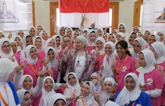 معسكر طلابي لطالبات كلية البنات بجامعة عين شمس بمطروح| صور