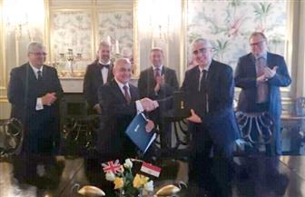 سفير مصر في بريطانيا يشهد مراسم توقيع اتفاق لإنشاء فرع لكلية لندن للاقتصاد بالعاصمة الإدارية الجديدة  صور