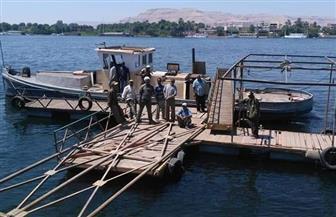 بسبب تطوير الكورنيش.. نقل مرسى الإسعاف النهرى بالأقصر   صور