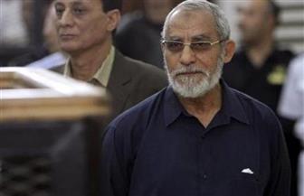 المؤبد لبديع والشاطر والكتاتني والعريان في قضية التخابر مع حماس