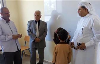 رئيس مجلس مدينة بئر العبد بالعريش يطمئن على سير العملية التعلمية| صور