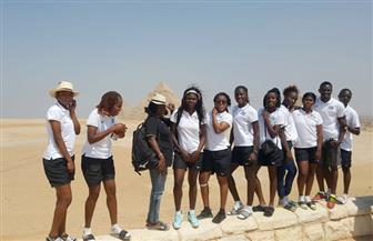 رحلة ترفيهية للمنتخبات المشاركة ببطولة العالم لكرة الطائرة بمصر | صور