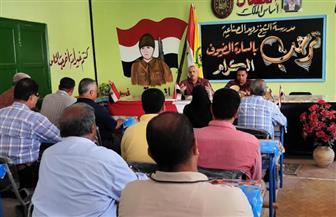 رئيس مركز مدينة الشيخ زويد: توفير جميع احتياجات المدارس بالمدينة| صور