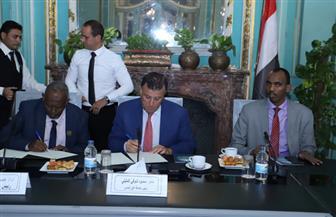 اتفاقية تعاون مشترك بين جامعة عين شمس وجامعة الجزيرة الصومالية | صور