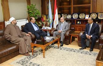 محافظ كفرالشيخ يلتقى رئيس الجمعية المصرية لتنظيم الأسرة | صور