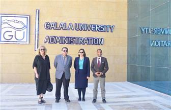برعاية وزارة الهجرة.. وفد أكبر جامعة أسترالية يزور مدينة الجلالة | صور