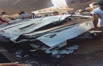 نيابة بولاق تصرح بدفن ضحايا سقوط ميكروباص من أعلى محور صفط اللبن | صور