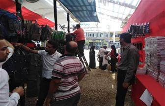 إقبال كبير على معرض مستقبل وطن للمستلزمات المدرسية بمطوبس في كفر الشيخ | صور