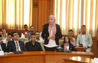 شباب برلمان بورسعيد يوجه طلبات إحاطة للمحافظ حول التأمين الصحي الشامل والتحول الرقمي | صور