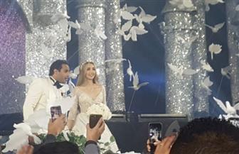 حفل زفاف أحمد فهمي وهنا الزاهد| صور