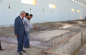 محافظ قنا يتفقد عددا من المشروعات الخدمية بمدينة نجع حمادي   صور
