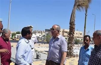 محافظ البحر الأحمر يتفقد سوق الخضار الجديد وممشى شارع الحجاز بالغردقة