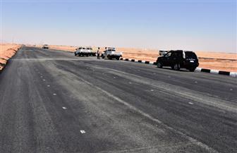 محافظ أسوان يتفقد مشروع ازدواج الطريق الصحراوي الغربي ومحور كلابشة