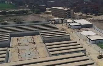 طرح 107 وحدات صناعية بالمنطقة الاستثمارية بميت غمر | صور