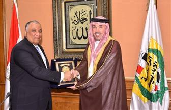 سفير مملكة البحرين يزور مقر هيئة الرقابة الإدارية