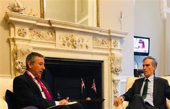 وزير الدولة البريطاني يؤكد حرص بلاده توثيق العلاقات مع مصر خلال الفترة القادمة