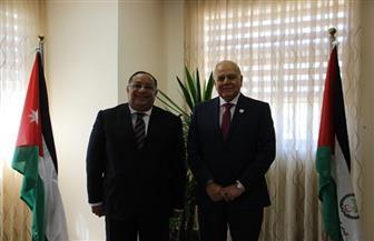 رئيس جامعة حلوان يترأس  الدورة الـ52 للمؤتمر العام لاتحاد الجامعات العربية بالأردن