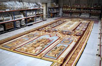 عملية ترميم واسعة لسجاد كاتدرائية نوتردام في باريس| صور