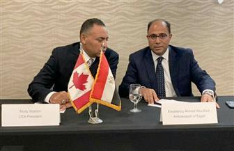 سفيرنا بكندا يروج للاستثمار في مصر خلال زيارته لمقاطعة البرتا| صور