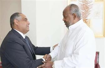 رئيس جيبوتي يستقبل السفير المصري بمناسبة قرب انتهاء فترة عمله| صور