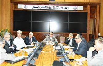اجتماع هيئات التأمين الصحي لمناقشة ميكنة منظومة التأمين الصحي الشامل ببورسعيد