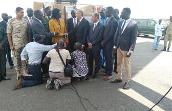 مصر تقدم شحنات مساعدات إلى الأشقاء في جنوب السودان