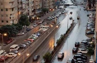 أمطار متوسطة على أحياء الإسكندرية