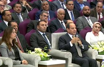 الرئيس السيسي: بعض الدول تستخدم التنظيمات الإرهابية لتحقيق أهداف سياسية وأمنية