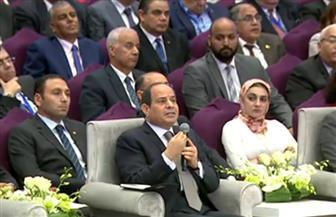 الرئيس السيسي: الجيش المصري هو مركز الثقل الحقيقي ليس لمصر فقط بل للمنطقة كلها