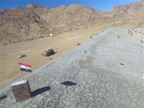 انتهاء تنفيذ المرحلة الأولى من مشروع حماية مدن جنوب سيناء من أخطار السيول