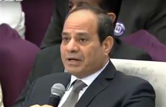 الرئيس السيسي: تحركات 2011 رغم أهدافها النبيلة كانت سببا في بناء سدود على النيل