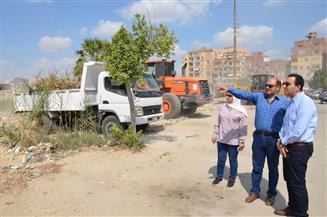 نائب محافظ الإسماعيلية على رأس حملة موسعة لتطهير حديقة الفروسية من المخلفات | صور