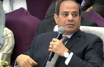"""الرئيس السيسي يحذر من خطورة التلاعب في الثقة بينه وبين الشعب قائلا: """"لست أكبر من الرد على اتهامات"""""""