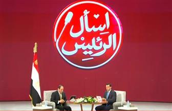 """بدء فعاليات جلسة """"اسأل الرئيس"""" بالمؤتمر الوطني الثامن للشباب"""