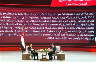 القاهرة تتصدر نسب المشاركة.. 453 ألف سؤال للرئيس السيسي