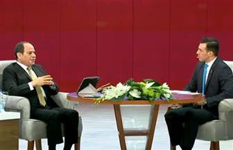 الرئيس السيسي: نعمل على تأسيس منظومة تعليم جديدة لإعادة صياغة الشخصية المصرية