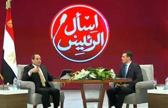 """الرئيس السيسي: """"مصر لو راحت المنطقة كلها هتروح"""""""