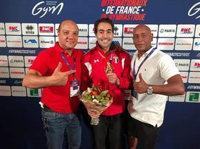 """أبو القاسم بعد التتويج بذهبية كأس العالم للجمباز: """"أحلى إحساس في الدنيا"""""""