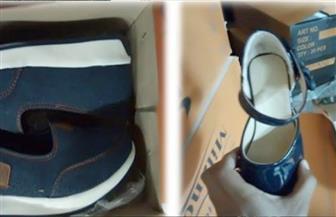 ضبط مخزنين للأحذية بدون ترخيص بباب الشعرية