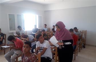 بدء اختبارات القبول لمعهد التمريض نظام الخمس سنوات بجنوب سيناء   صور