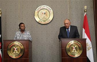 وزيرة خارجية كينيا: ناقشت التنمية بالقارة الإفريقية وقضايا السلم والأمن مع سامح شكري