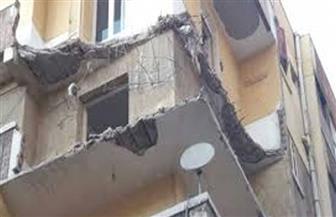 """انهيار عقار في شارع """"الغفاري"""" بحي الخليفة"""