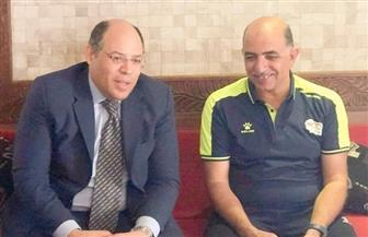 سفير مصر بتنزانيا يزور بعثة المصري قبل مواجهة بطل زنجبار