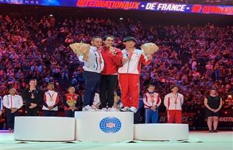 علي أبوالقاسم يحصد ذهبية كأس العالم للجمباز بفرنسا